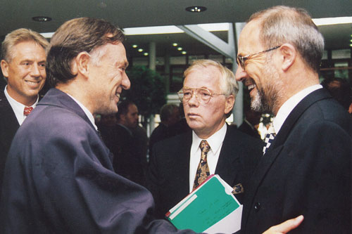 Besuch von Horst Köhler