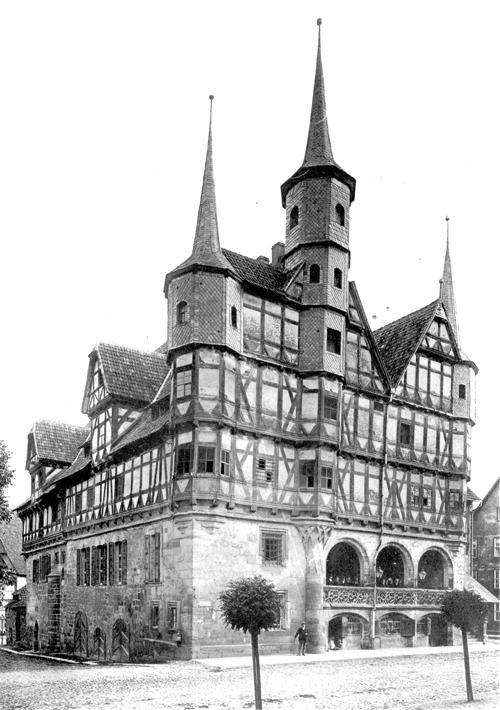 Rathaus Duderstadt 1846