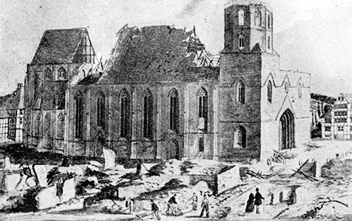 St. Cyrikus nach Brand in Duderstadt