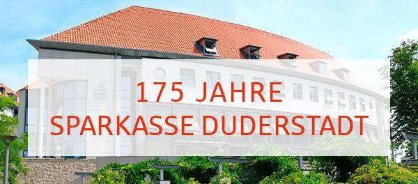 175 Jahre Sparkasse Duderstadt