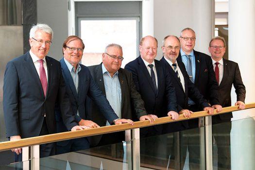 Finanzminister Hilbers zu Besuch bei der Sparkasse Duderstadt
